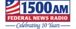 Federal News Radio (logo) - 1500 AM