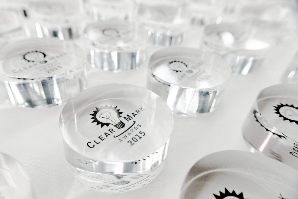 Clearmark crystals