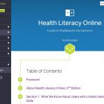 Top five health literacy tips for developing health websites