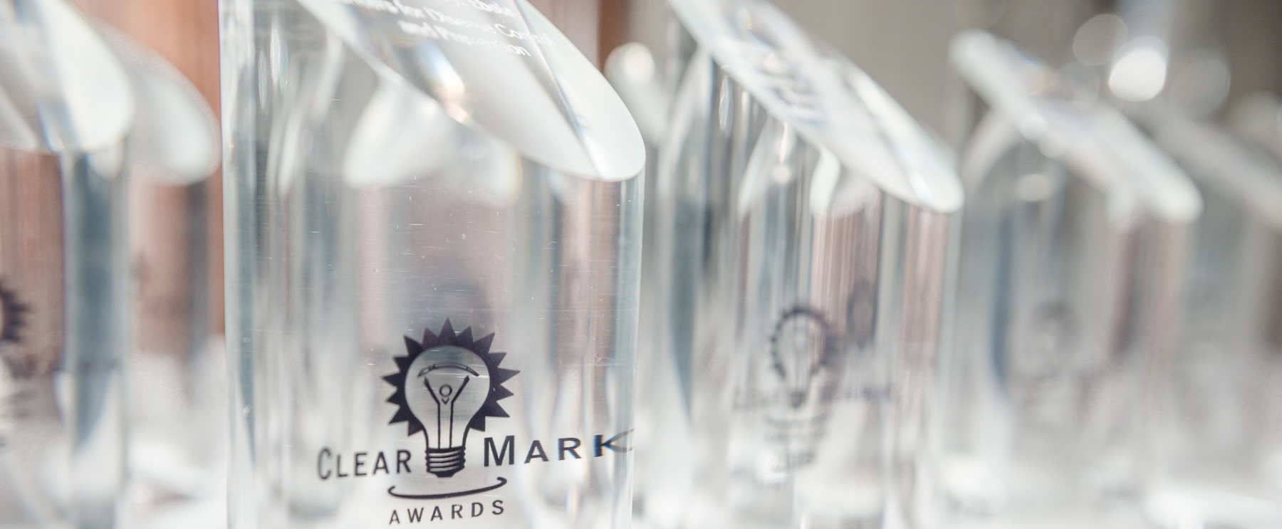 ClearMark Awards Category Winners Trophies