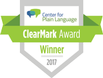 ClearMark Award winner logo(test)