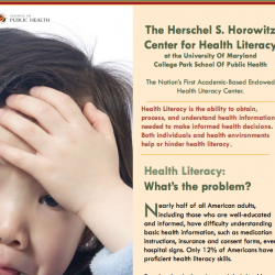 Herschel S. Horowitz Center for Health Literacy