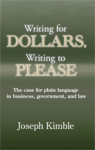 Writing for Dollars book cover