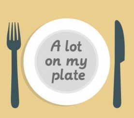 A lot on my plate image