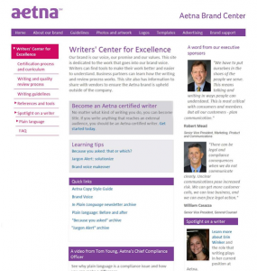 Aetna entry 2013