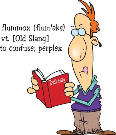 Flummox cartoon image