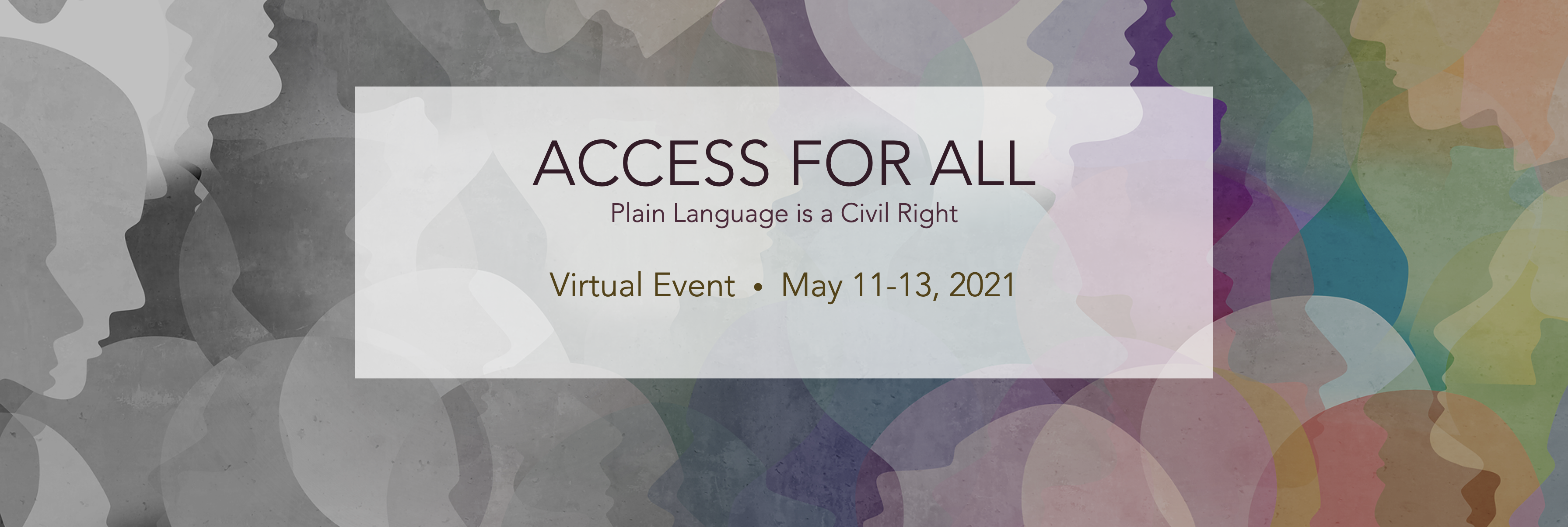 Access for All Conference May 11th-13th