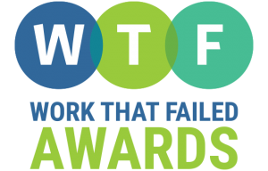 Submit to the WTF Awards and support organizations that need a better commitment to plain language.